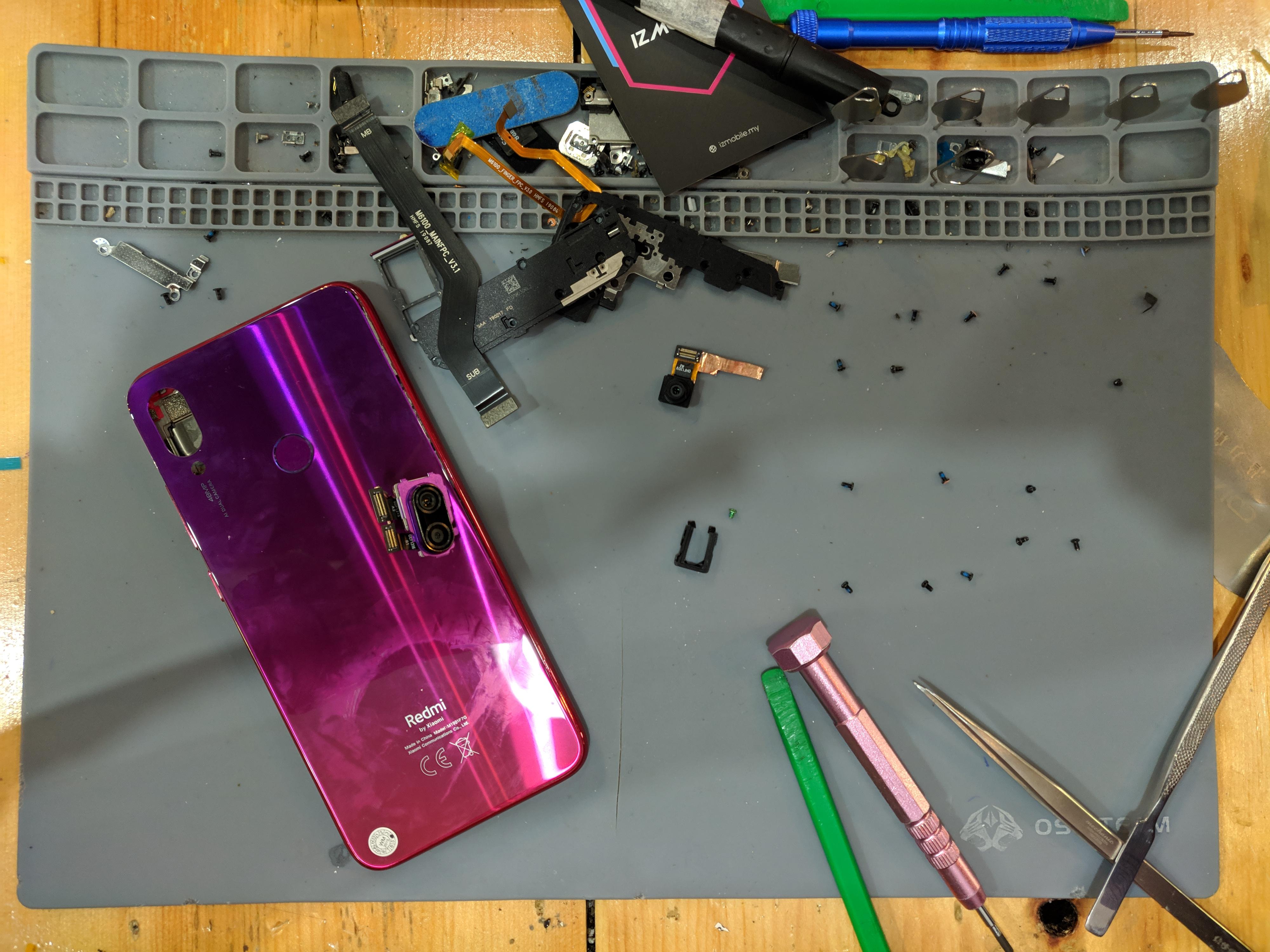 Redmi Note 7 Liquid damage repair