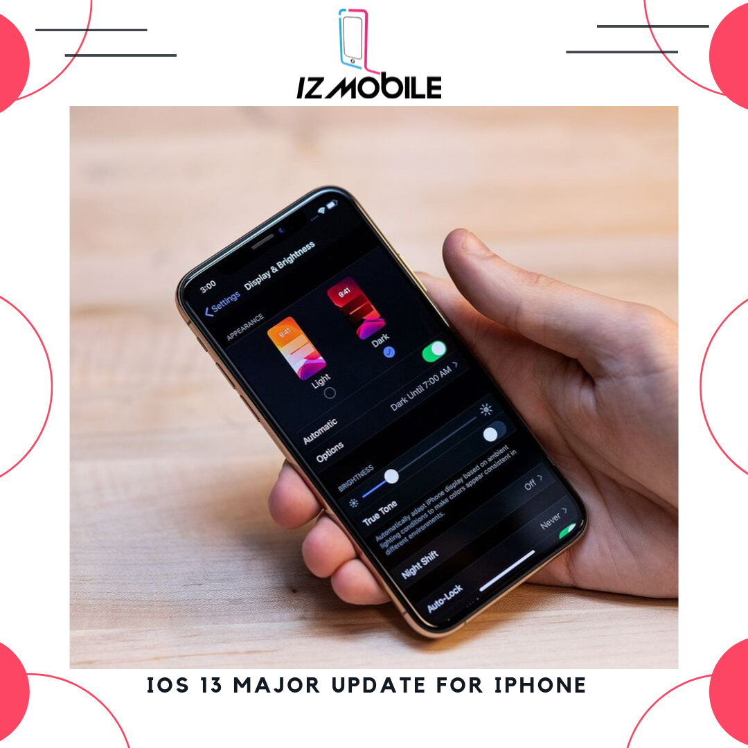 iOS 13 Major Update for Iphone