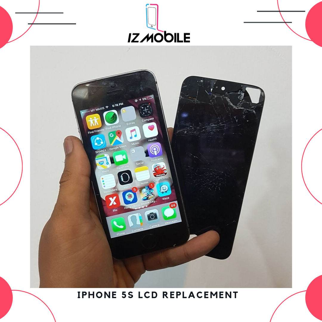 Iphone 5s Lcd Replacement in Bangi