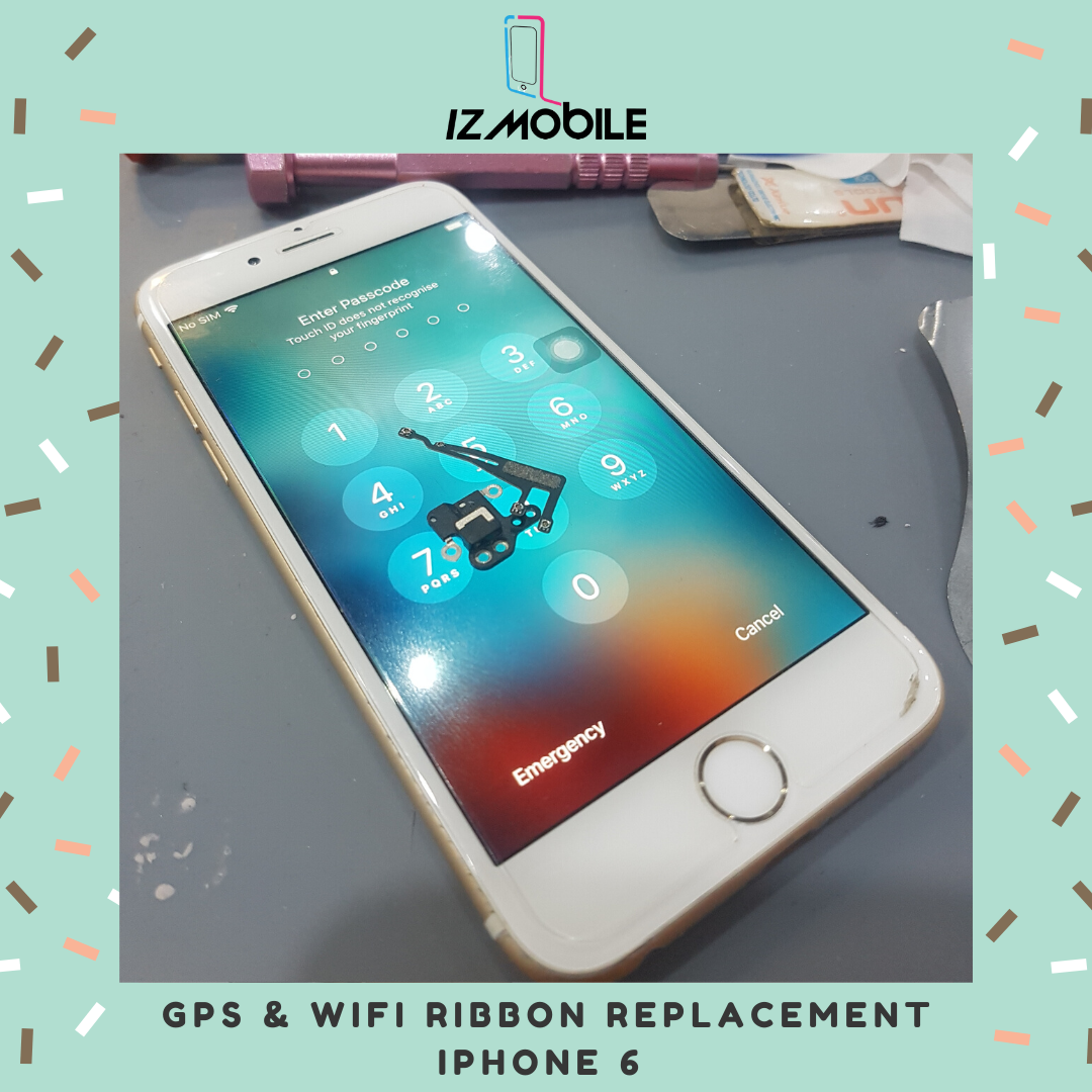 Gps & Wifi Ribbon Iphone 6